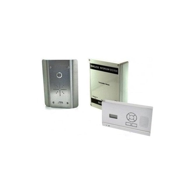 603-HF-AS D.E.C.T. Wireless Digital Intercom with wall mounted audio monitor