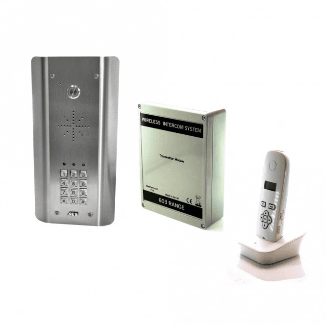 AES 603-ASK DECT Architectural Kit (all stainless) with Keypad