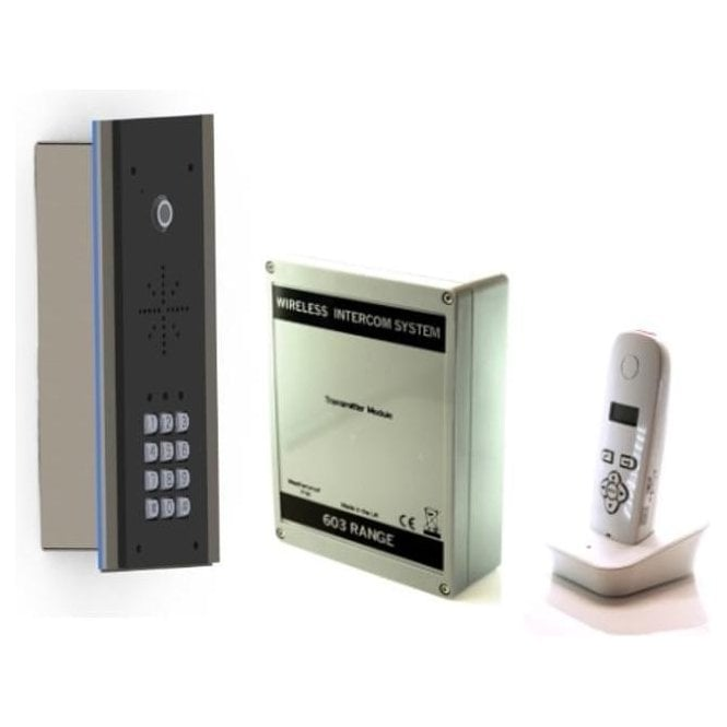 AES 603-EDFK DECT edge kit (flush) with Keypad