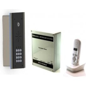 603-EDFK DECT edge kit (flush) with Keypad