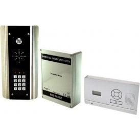 603-HF-ABK D.E.C.T. Wireless Digital Intercom with wall mounted audio monitor