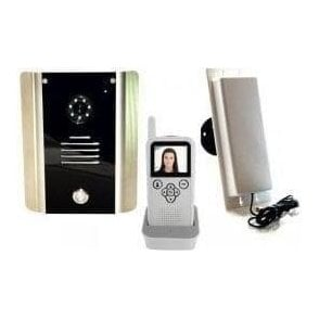 605-AB 1 Way Wireless Video intercom Kit with Surface Panel