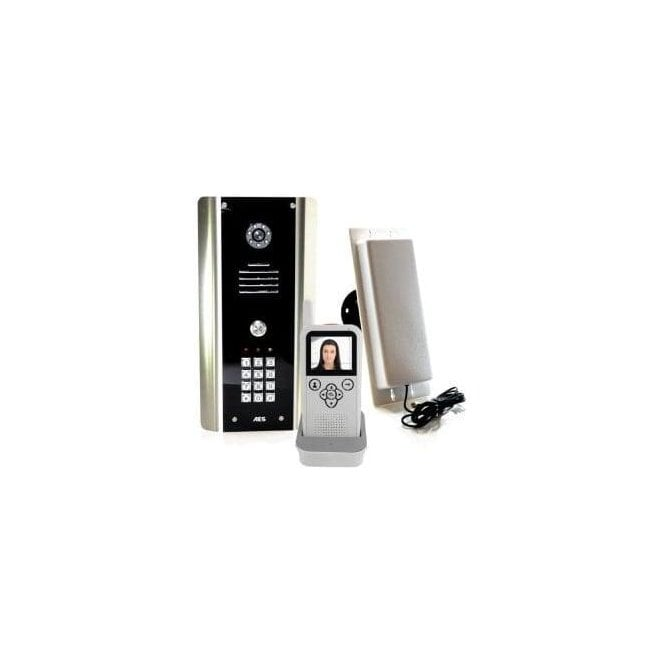 AES 605-ABK 1 Way Wireless Video intercom Kit with K/P