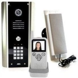 605-ABK 1 Way Wireless Video intercom Kit with K/P