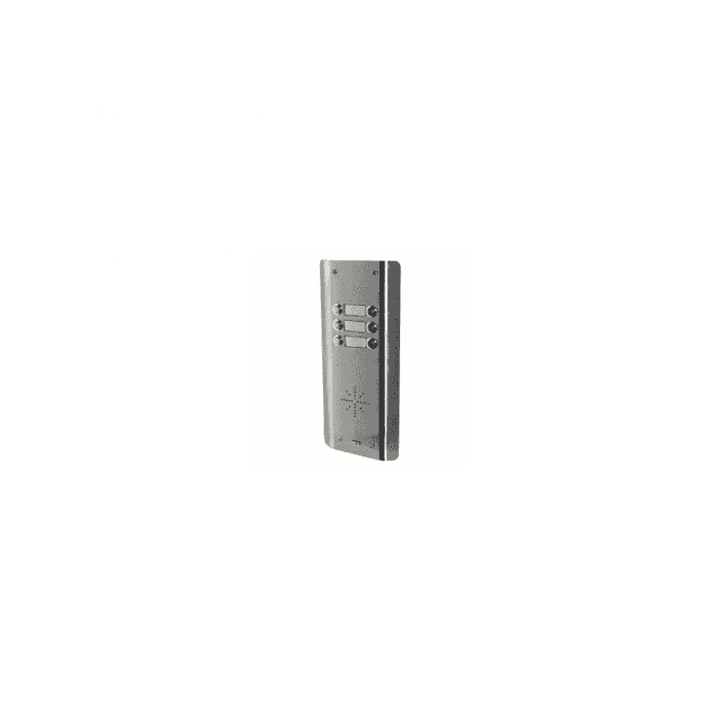 AES GSM-5AS6 6 Button PRIME Architectural Stainless GSM Intercom