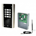 AES GSM-5AS8 8 Button PRIME Architectural Stainless GSM Intercom
