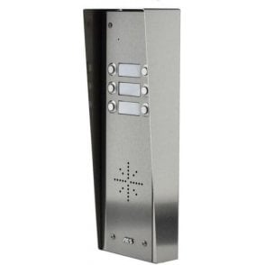 GSM-5HS6 6 Button PRIME Hooded Stainless GSM Intercom