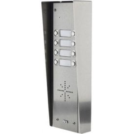 GSM-5HS8 8 Button PRIME Hooded Stainless GSM Intercom