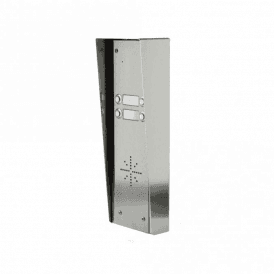 GSM-HSK4 4 Button Hooded Stainless GSM intercom with Keypad
