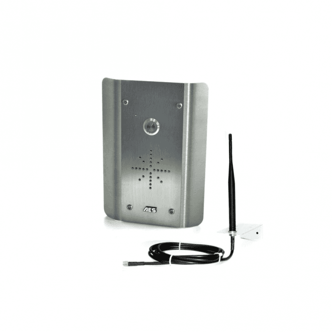 AES GSM Prime 6 AS 2G Architectural all stainless GSM Intercom