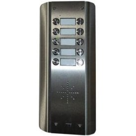 GSM Prime 6 AS10 - 10 Button PRIME Architectural Stainless GSM Intercom