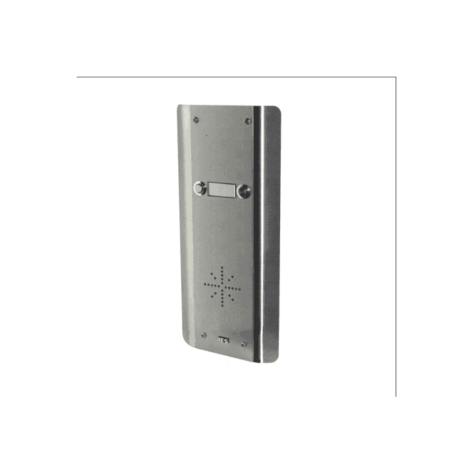 AES GSM Prime 6 AS2 2 Button PRIME Architectural Stainless GSM intercom