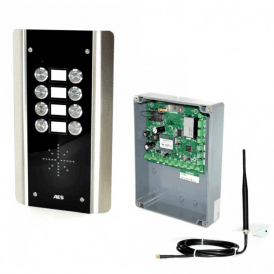 GSM Prime 6 AS8 8 Button PRIME Architectural Stainless GSM Intercom