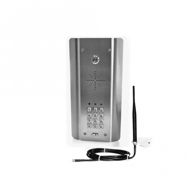 AES GSM Prime 6 ASK Architectural stainless GSM with Keypad