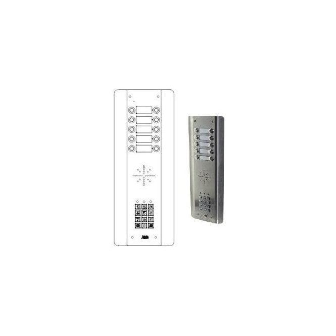 AES GSM Prime 6 ASK10 - 10 Button PRIME Architectural with keypad