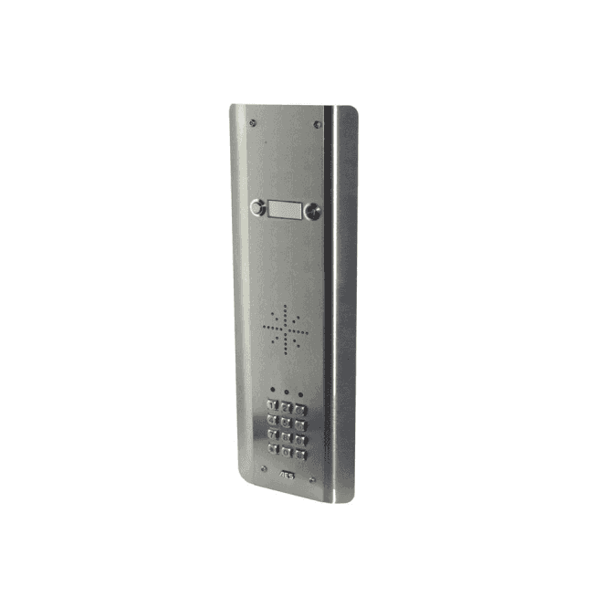 AES GSM Prime 6 ASK2 2 Button PRIME Architectural Stainless with keypad
