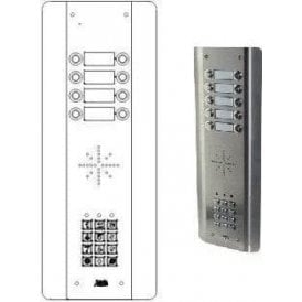 GSM Prime 6 ASK8 8 Button wireless GSM intercom with keypad