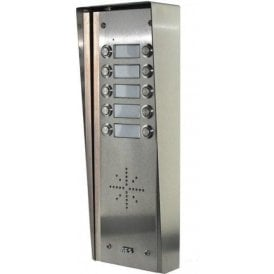 GSM Prime 6 HS10 10 Button PRIME Hooded Stainless GSM Intercom