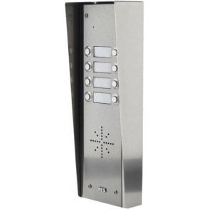 GSM Prime 6 HS8 8 Button PRIME Hooded Stainless GSM Intercom