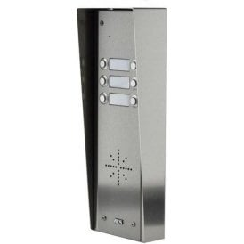 GSM Prime 6 HSK6 6 Button PRIME Hooded Stainless GSM intercom with Keypad