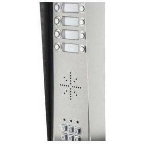 GSM Prime 6 HSK8 8 Button PRIME Hooded Stainless GSM intercom with Keypad