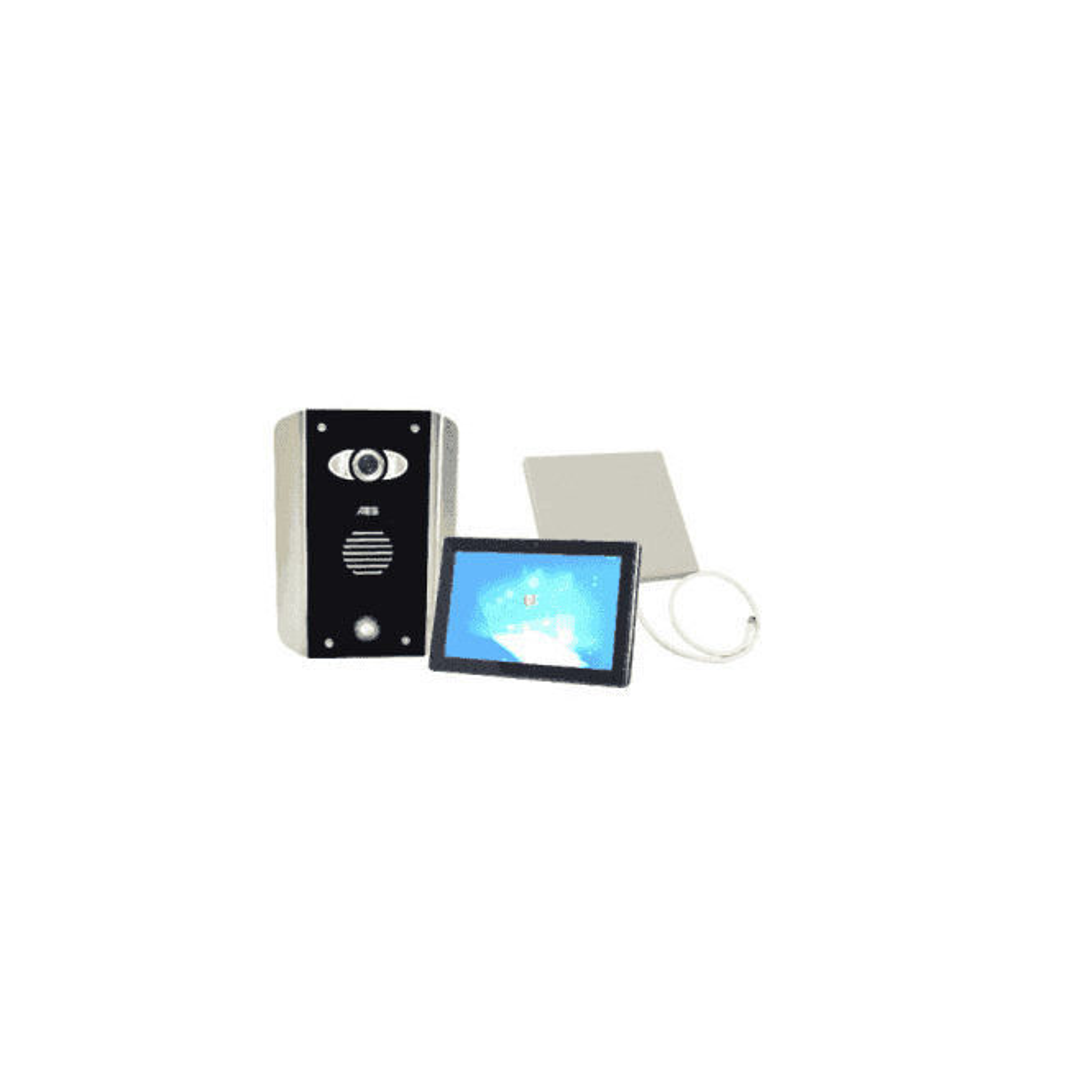 AES PRED2-WIFI-AB-MONITOR1 Architectural wifi intercom - New Wifi Predator Mark 2 with 1 monitor