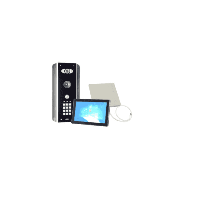 AES PRED2-WIFI-ABK-MONITOR1 Architectural wifi intercom with keypad - New Wifi Predator Mark 2 - with 1 monitor
