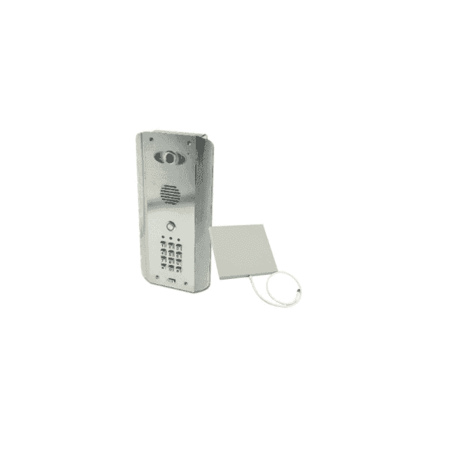AES PRED2-WIFI-ASK Architectural wifi intercom (all stainless design) with keypad - New Wifi Predator Mark 2