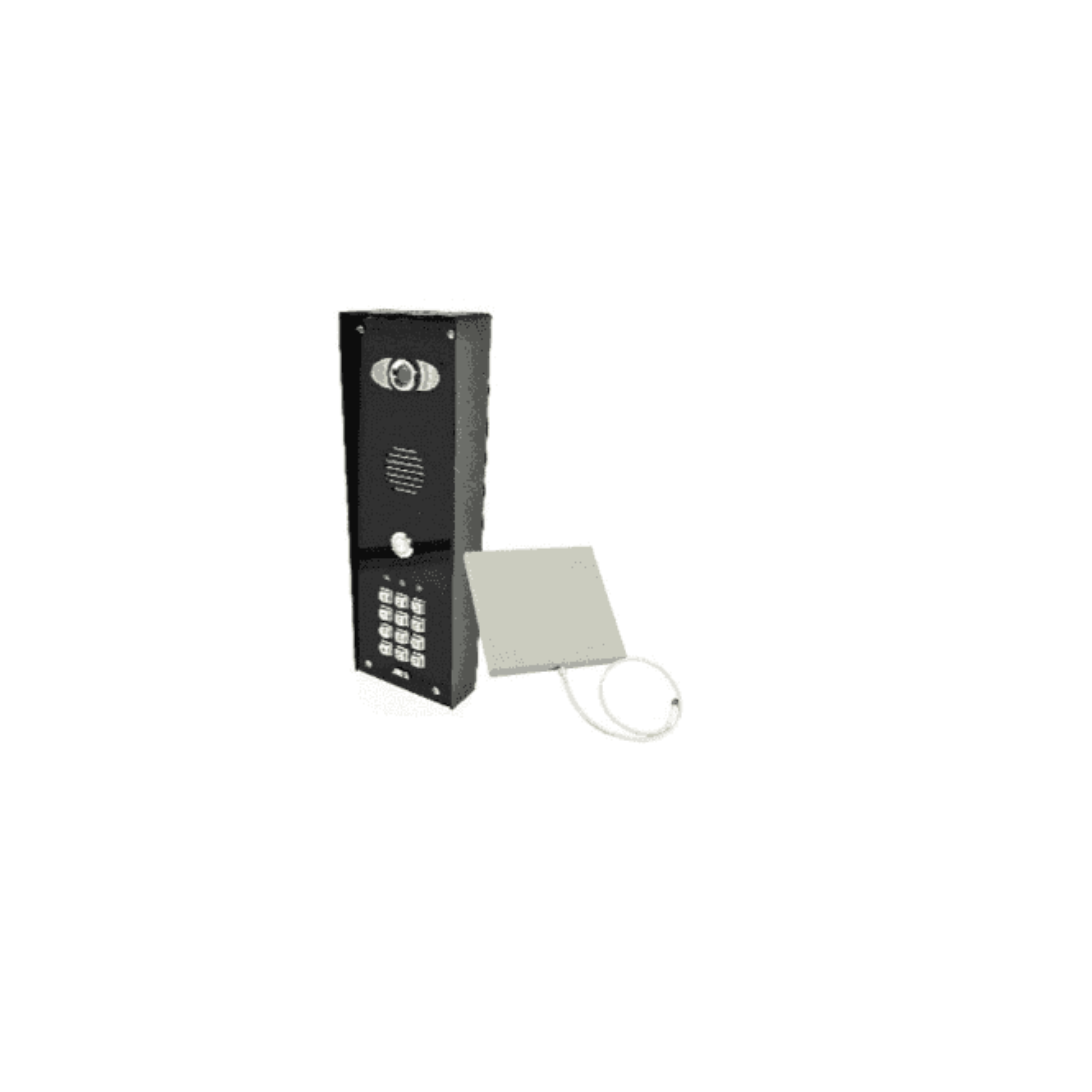 AES PRED2-WIFI-IMPK Imperial (Pedestal Mount) wifi intercom with keypad - New Wifi Predator Mark 2