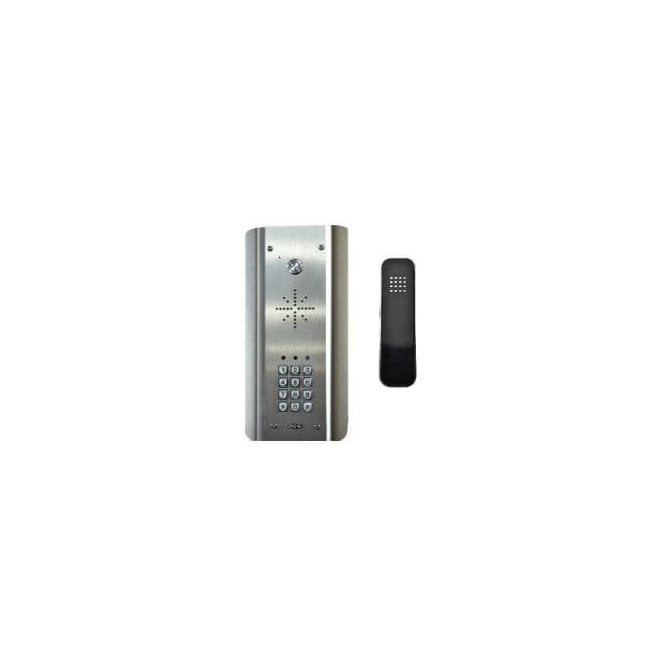 AES SLIM-HF-ASK Slim Hardwired Audio Architectural Kit (all stainless) with keypad - HANDSFREE