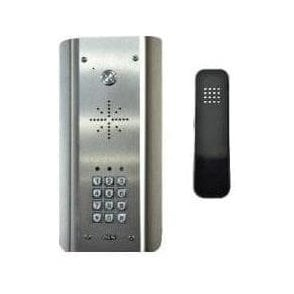 SLIM-HF-ASK Slim Hardwired Audio Architectural Kit (all stainless) with keypad - HANDSFREE