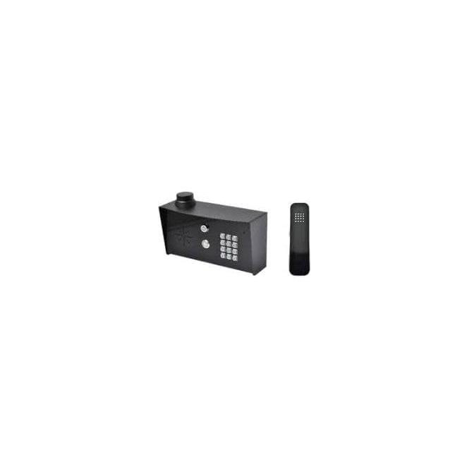 AES SLIM-HF-IMPK-PED Slim Hardwired Audio Imperial (all black) Kit with keypad - HANDSFREE