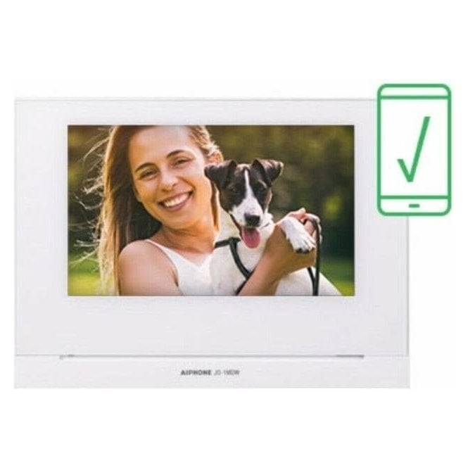 "AIPHONE JO-1MDW - 7"" Colour Video monitor WIFI"