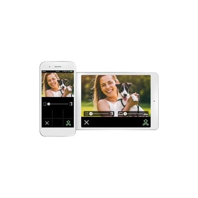 """AIPHONE JOS-1VW - 7"""" Colour video surface door station kit (w/PS) WIFI Module"""