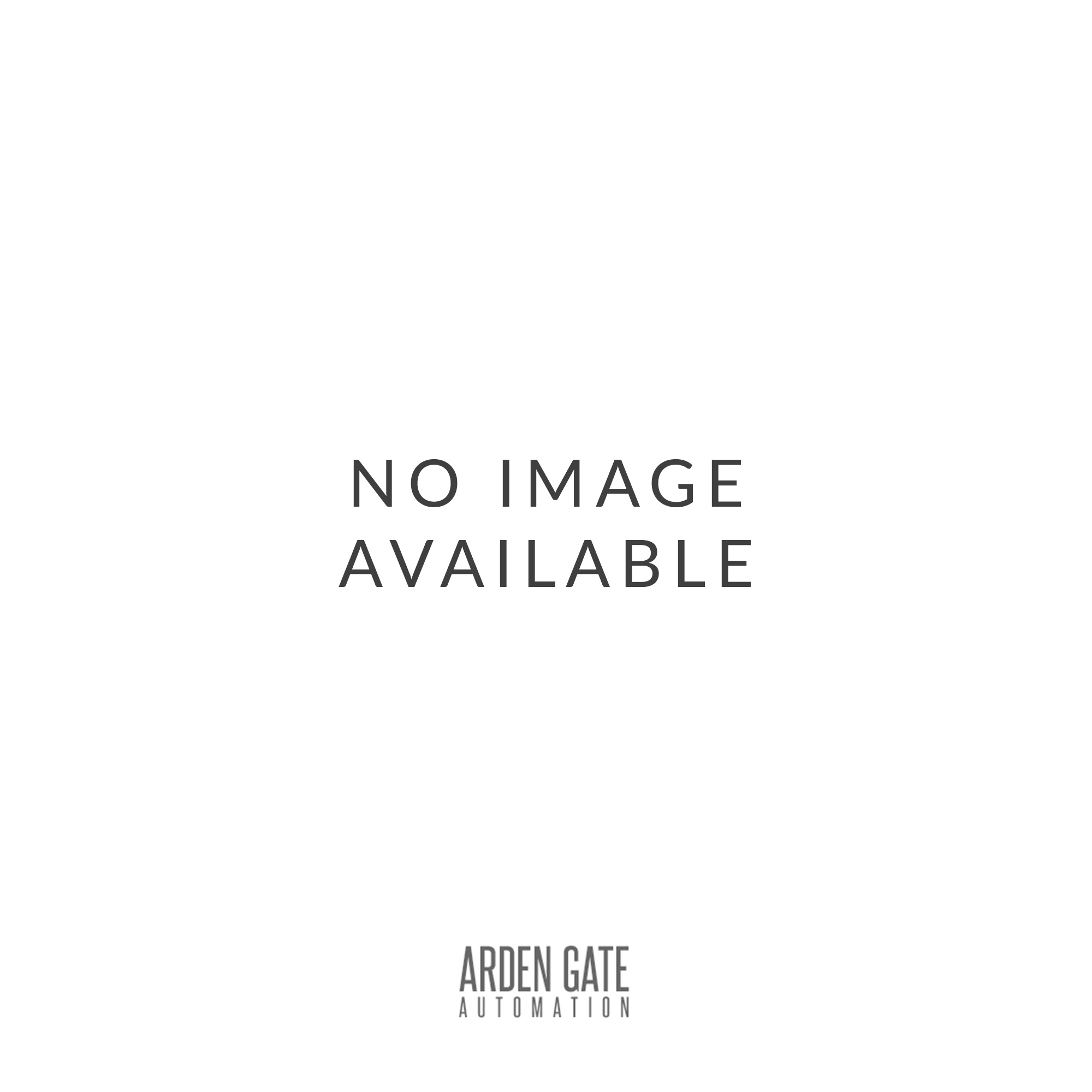 Arden Gates 09 Standard front or rear opening post box installed in to steel railings