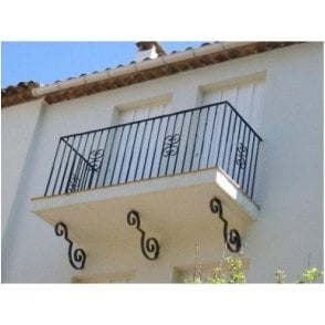 Balcony example 1