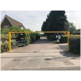 Swing Open Height Restriction Barrier 10M