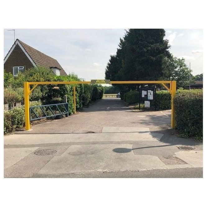 Arden Gates Swing open Height Restriction Barrier 7M