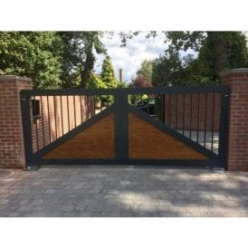 The Blossomfield Aluminium Gate