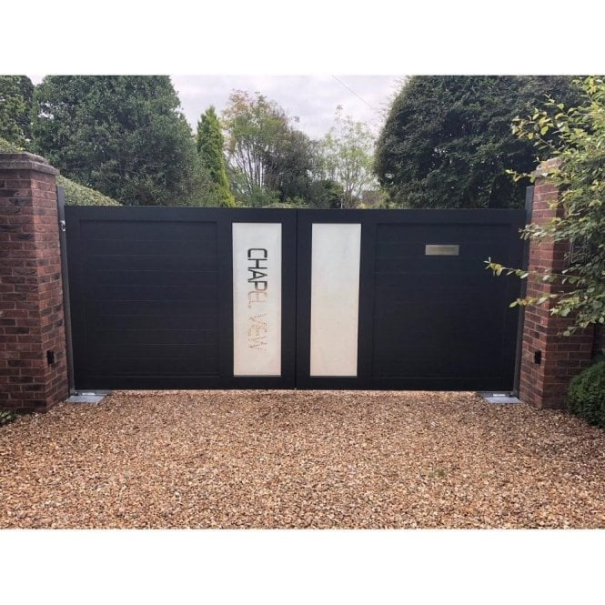 Arden Gates The Cheltenham personalised aluminium gate