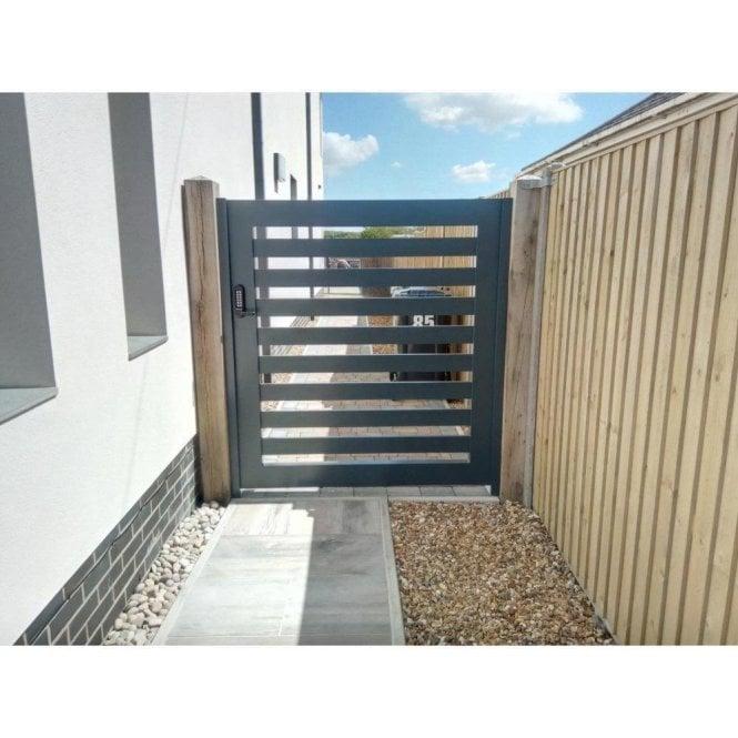 "Arden Gates The Kenilworth ""Wide Gap"" Aluminium Sliding Gate"