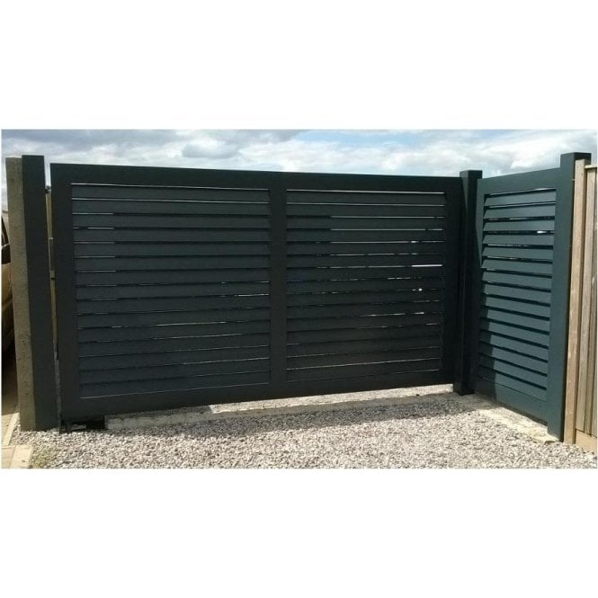 The Louvered Aluminium Gate
