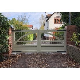 The Stafford Aluminium swing gate