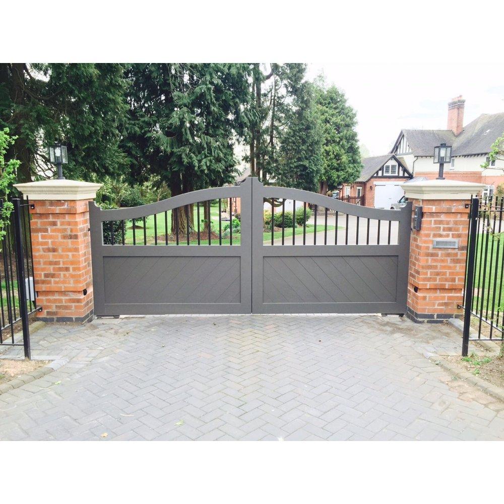 Arden Gates The Warwick Aluminium Gate Arden Gates From