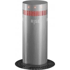 24v VIGILANT 500i-500mm stainless steel bollard kit