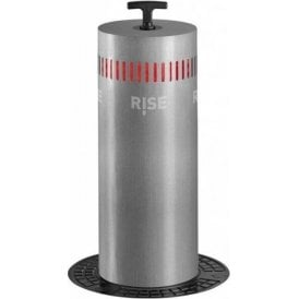 Semi automatic gas operated manual bollard