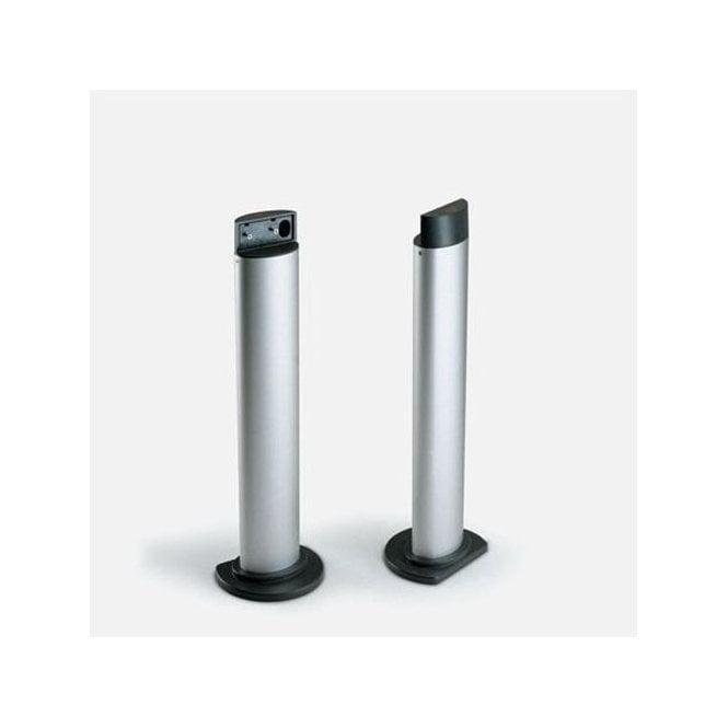 BFT Dual aluminium posts