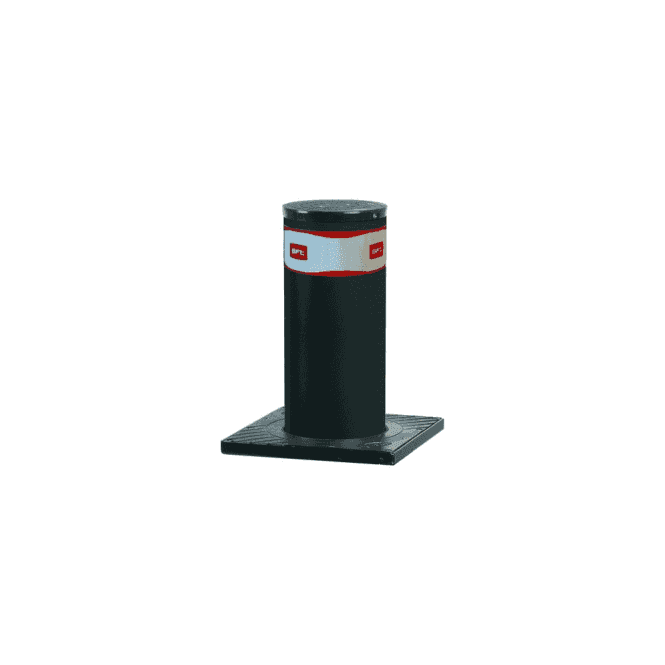 BFT PILLAR B 800 x 275 Hydraulic automatic bollard c/w LED light crown & Perseo control panel