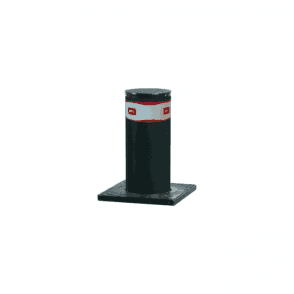 PILLAR B 800 x 275 Hydraulic automatic bollard c/w LED light crown & Perseo control panel