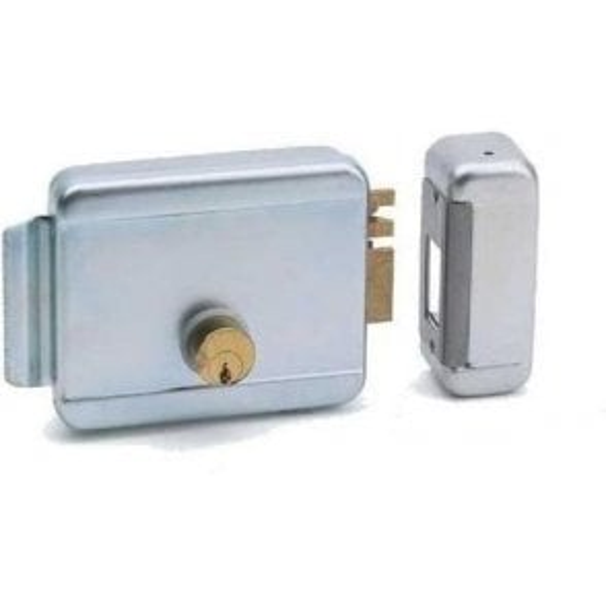 side latching lock